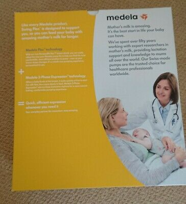 Medela Swing Flex Electric Breast Pump *Brand New* *Free Recorded Delivery*