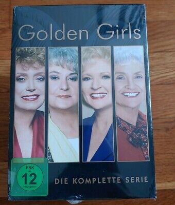 Golden Girls Complete PAL GERMAN Die Komplette Serie NEW