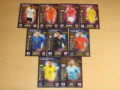 MATCH ATTAX 101 - 2019 - Football Cards - STARS Summer - International - World