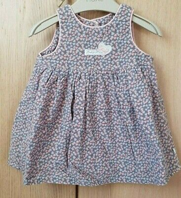 Mothercare Baby Infant Girls Dress and Cardigan (Top). Set of 2 pieces