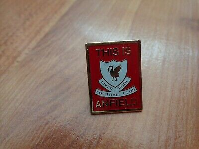Classic Liverpool Fc Liverbird This Is Anfield Football Enamel Lapel Pin Badge