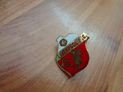 Classic Liverpool Fc Liverbird Crest The Reds Shield Football Enamel Pin Badge