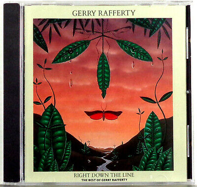 Gerry Rafferty - Right Down The Line The Best Of 1989 EMI USA CD Album