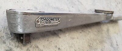 SNAP-ON TOOLS - TORQOMETER Wrench TQ-150 FOOT POUNDS 1/2 In. Drive