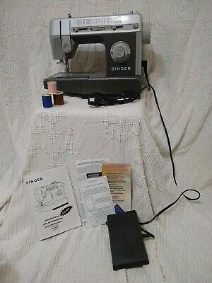 Singer CG-590 C Commercial Mechanical Sewing Machine EUC