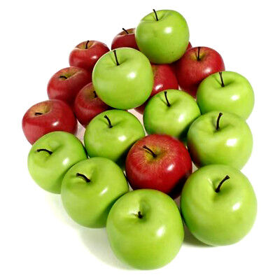 PHOTO APPLE FRUIT RED GREEN FOOD POSTER ART PRINT HOME PICTURE BB243A