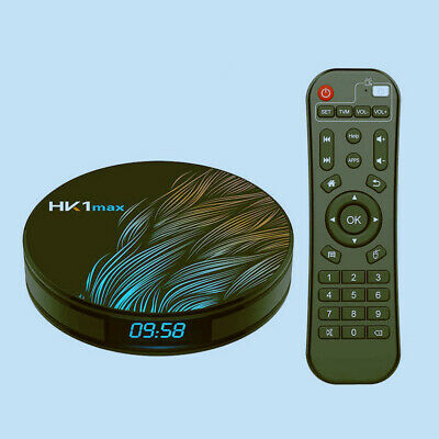 HK1 Max TV Box Android 9.0 RK3328 1080p 4K Wifi Google Play Netflix Set Top Box