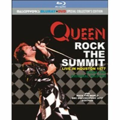 NEW QUEEN ROCK THE SUMMIT : LIVE IN HOUSTON 1977 1BLURAY-R+1DVD #Ke