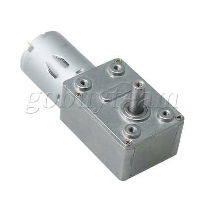 12V Reversible Worm Gear Motor Speed Reducing Electric Gearbox Motor 8RPM