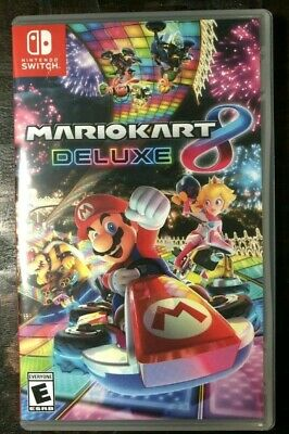 Mario Kart 8 Deluxe (Nintendo Switch, 2017) Brand New Sealed