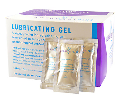 Surgi-Gel Plus, Lubricating Jelly, 3ml Sachets