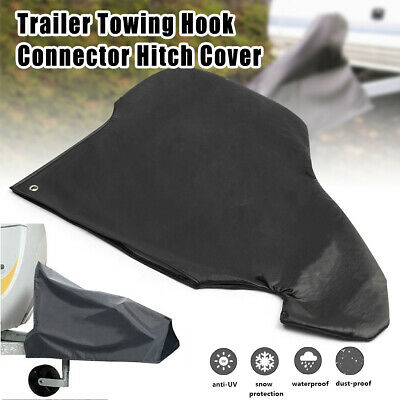 Universal Caravan Hitch Cover Trailer Tow Ball Coupling Lock Cover Waterproof