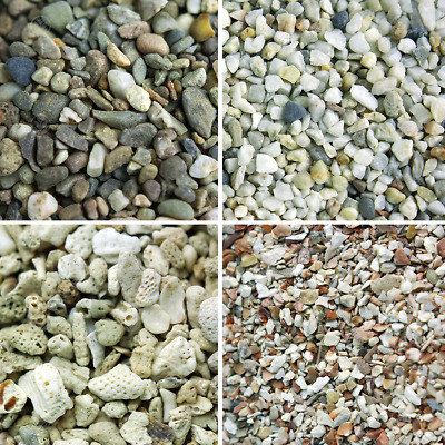 GardenersDream Natural Aquatic Fish Gravel - Premium and Decorative Tank Stones