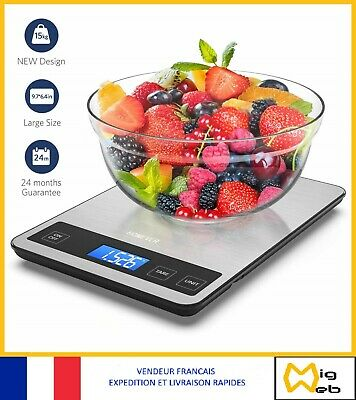 5kgx1g Digital Kitchen Scale Food Parcel Weighing Balance with Bowl TA OB60 I8E6