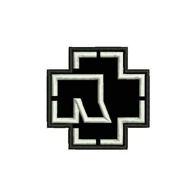 RAMMSTEIN logo embroidered sew on patch