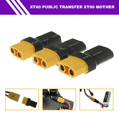 1PC XT60 Male to XT90 Female Power Connector Adapter Converter For Car Boat