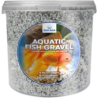 Sakana Natural Nordic Aquatic Fish Gravel - Premium Aquarium Pond Décor Stones