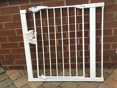2 Lindam Easy-Fit Plus Deluxe Safety Gate With 7 Cm Extender