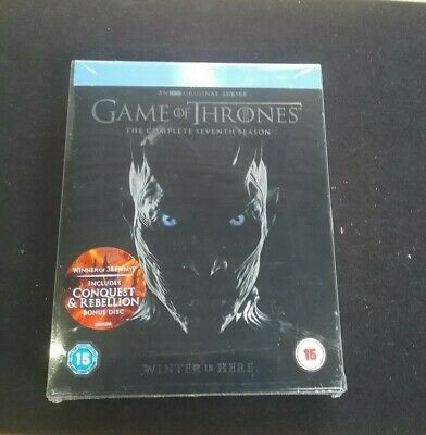 Game Of Thrones The Complete Seventh Season Blu-Ray with Bonus Disc ( B24/06)