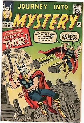 Journey into Mystery #95 7.5 VF- Thor Silver Age Marvel