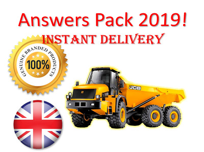 2019 CPCS A56 Dump Truck Articulated Chassis Theory Test Answers | BOOK + PDF