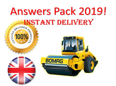 2019 CPCS A31 Ride on Roller Theory Test Answers PACK | BOOK + PDF