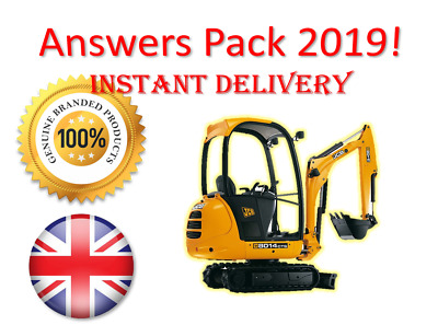 2019 CPCS A58 Excavator 360 below 10 tonnes Theory Test Answers | BOOK + PDF