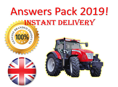 CPCS A33 Agricultural Tractor Theory Test Answers PACK | INSTANT | UK