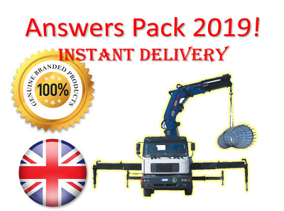 2019 CPCS A36 Lorry Loader Theory Test Answers PACK | BOOK + PDF