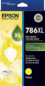 Epson 786XL Yellow Ink Cart High Yield Suit WF-4630/4640