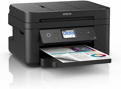 Multifunzione Epson Workforce WF 2860 DWF, Stampante4-in-1, fronte/retro, B/N