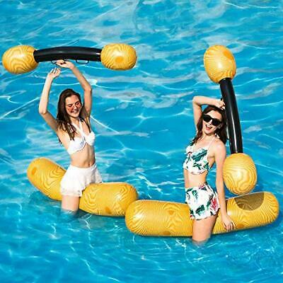 2 PCS SET Inflatable Floating Row Toys Adult Children ...