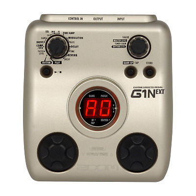 ZOOM G1Next G1 GUITAR MULTI EFFECTS PEDAL & POWER SUPPLY