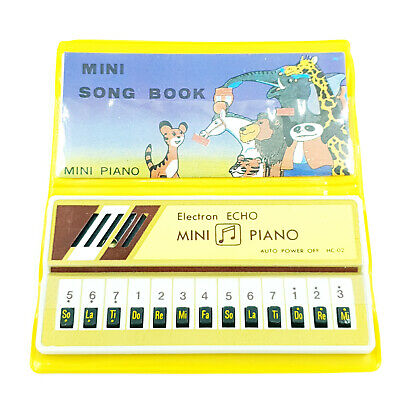 Mini Piano Electron Echo - Mini Song Book - Vintage - Dans son emballage