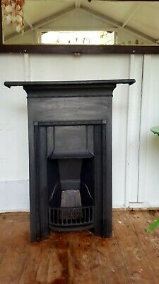 VICTORIAN / EDWARDIAN CAST IRON BEDROOM FIREPLACE collection only
