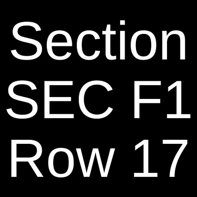 2 Tickets The Who 10/11/19 Hollywood Bowl Los Angeles, CA