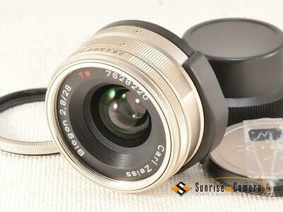 CONTAX Carl Zeiss T* Biogon 28mm F2.8 G [EXCELLENT] from Japan (15072)