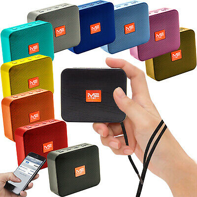Tragbarer Mini Bluetooth Lautsprecher Soundbox Soundstation Musikbox MP3 Radio