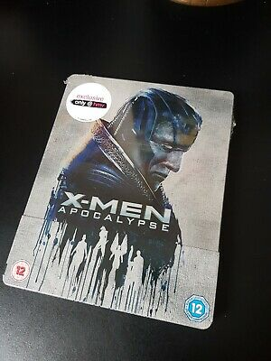 X-Men Apocalypse Exclusive Bluray Steelbook. New And sealed. Collectors Edition