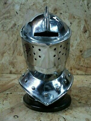 Desktop Knight Helmet with stand