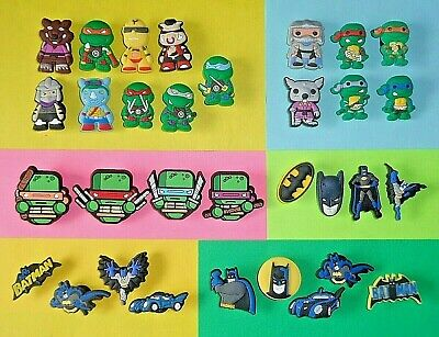 Super Hero  Turtle Shoe Charms Shoe Buttons Clog Accessories Cake Toppers