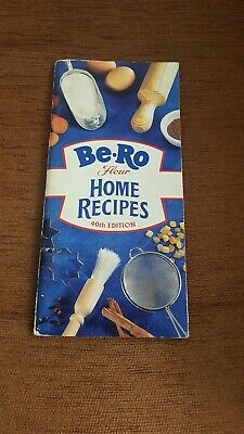BE-RO RECIPES COOK BOOK HOME BAKING  40th edition collectable