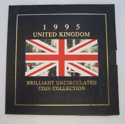 1995 Royal Mint UK Brilliant Uncirculated Coin Collection
