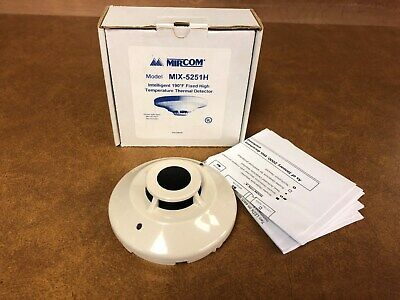 Mircom MIX-5251H Heat Detector