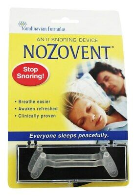Scandinavian Formulas - Nozovent Anti Snoring Device - 2 Piece(s) formerly S.H.