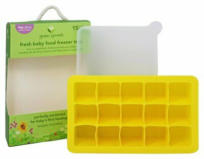 Green Sprouts - Fresh Baby Food Freezer Tray Green