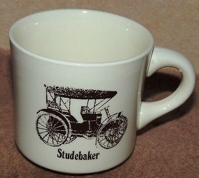 Vintage Antique Studebaker Car Automobile Auto Coffee Cup or Mug Marked USA