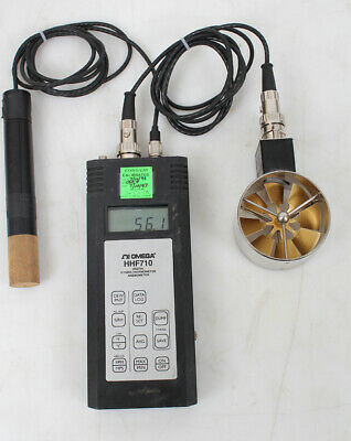 Omega Digital Hygro-Thermo Anemometer HHF710
