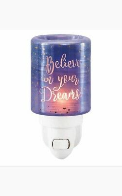 Bnib Scentsy Mini Plug In Warmer Believe In Your Dreams
