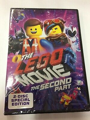 The LEGO Movie 2 The Second Part 2-Disc Special Edition (DVD, 2019) NEW SEALED